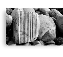 Gravel and stones Canvas Print