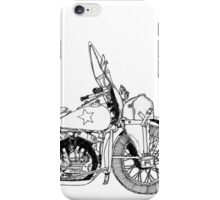 WLA pen and ink iPhone Case/Skin