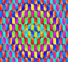 Tumblr 31 by CAP - MAGIC MOVING Optical Illusion Psychedelic Design by capartwork