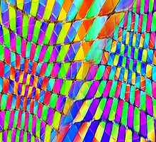 Tumblr 32 by CAP - Colorful Optical Illusion Vibrant Psychedelic Design by capartwork