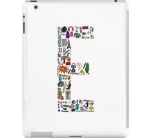 BS ABC's: E iPad Case/Skin