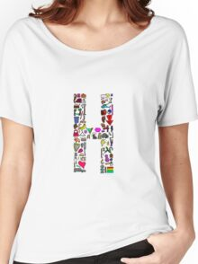 BS ABC's: H Women's Relaxed Fit T-Shirt