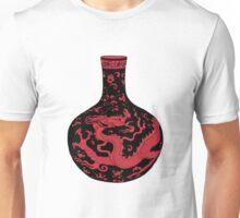 Red Chinese Dragon Vase Unisex T-Shirt