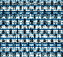 Knitted Pattern Set 22 - Blues 1 by wrapsio