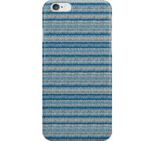 Knitted Pattern Set 22 - Blues 1 iPhone Case/Skin