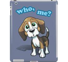 Beagle - Who, Me? iPad Case/Skin