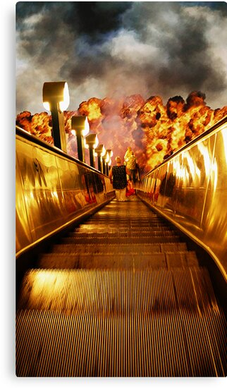 Staircase to the underground... by Nuh Sarche