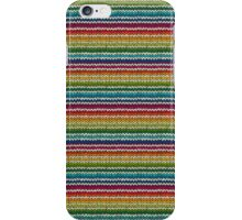Knitted Pattern Set 21 - Rainbow 4 iPhone Case/Skin