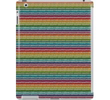 Knitted Pattern Set 21 - Rainbow 4 iPad Case/Skin