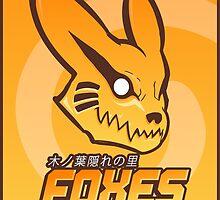 Konoha Foxes Team by gabriel-arruda