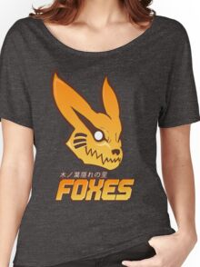 Konoha Foxes Team Women's Relaxed Fit T-Shirt