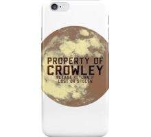 Claimed It For Hell iPhone Case/Skin