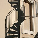 Fire escape by Pascale Baud