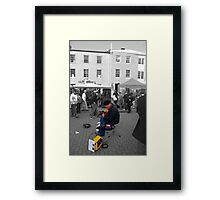 Flamenco in Salamanca Framed Print