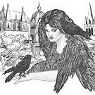 Black Winged Beauties by redqueenself