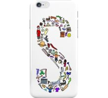 BS ABC's: S iPhone Case/Skin