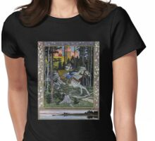 Fantasy Poster 2 (Reproduction) Womens Fitted T-Shirt