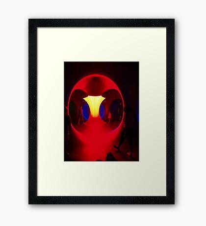 Levity III Framed Print
