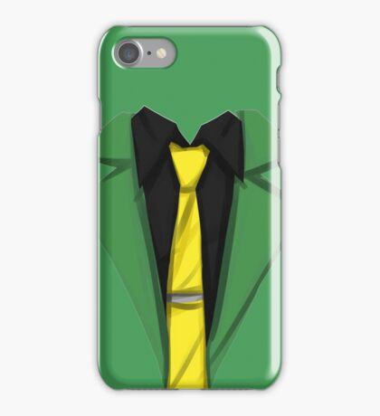 Lupin III - Spring Green iPhone Case/Skin