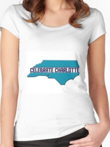 Celebrate Charlotte Women's Fitted Scoop T-Shirt