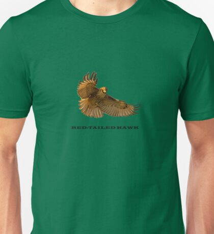 Red-Tailed Hawk Tee T-Shirt