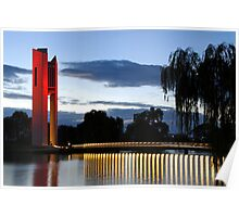 National Carillon Canberra Poster