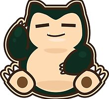 Snorlax by Eat Sleep Poke Repeat