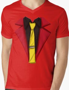 Lupin III - Hot Rod Red Mens V-Neck T-Shirt
