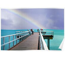 Approaching storm Hervey Bay Poster