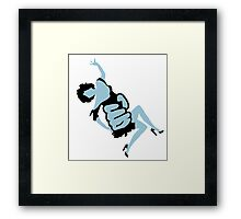 King Kongs Girl Framed Print