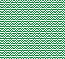 Green Chevrons by wrapsio