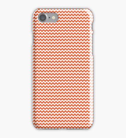 Orange Chevrons iPhone Case/Skin