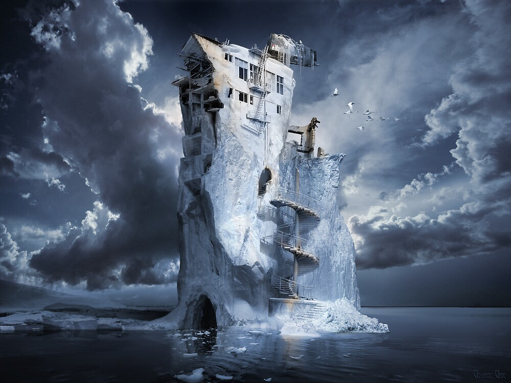 Ice Age Premonition or Infinite Iceberg Synthesizer by George Grie