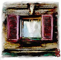 village window by bev langby