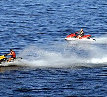 Jetski Racing by HALIFAXPHOTO