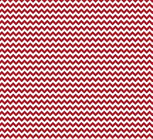Red Chevrons by wrapsio