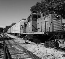 Old Train by KBdigital