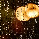 Rain Drops And Golden Bokeh by Colin S Pearson