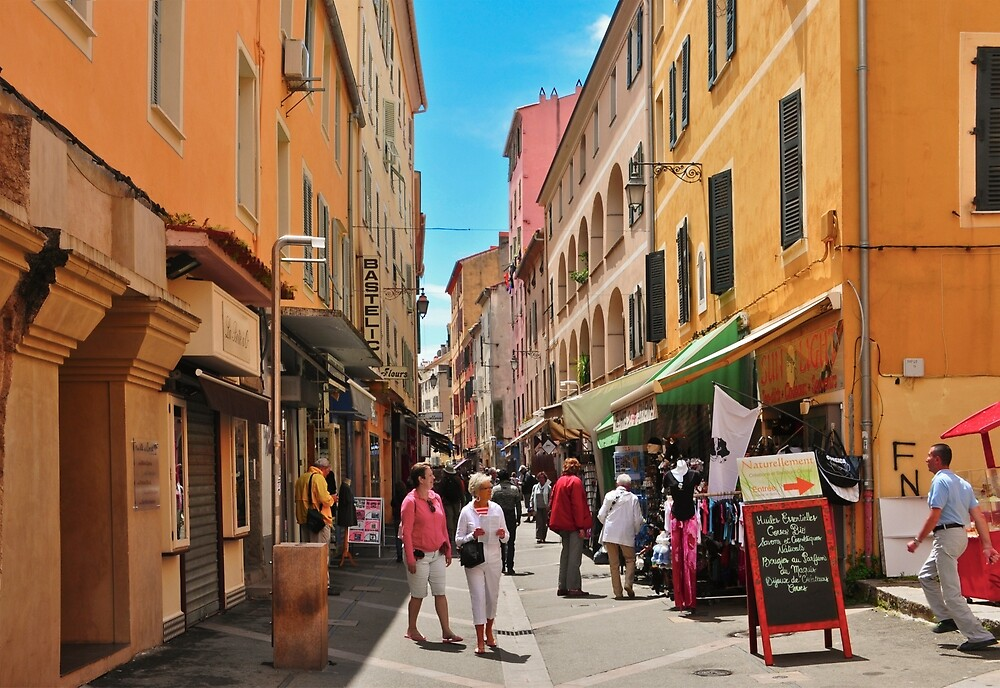 Shopping in Corsica by Thomas Barker-Detwiler