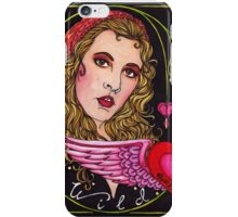 Bleed to Love her Wild Heart iPhone Case/Skin
