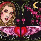 Bleed to Love her Wild Heart by Lynette K.