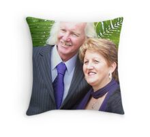 Warren and I Throw Pillow