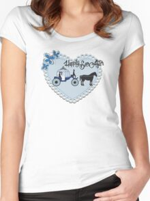 Happily Ever After Women's Fitted Scoop T-Shirt