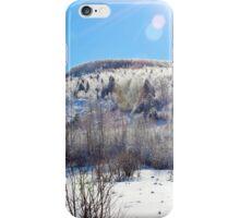 The Glory of Freezing Rain iPhone Case/Skin