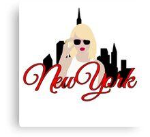 Taylor Swift: New York Canvas Print