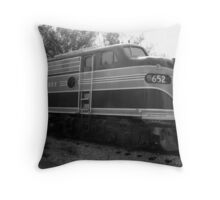 The Rock Island Rocket III Throw Pillow