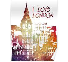 I love London Poster
