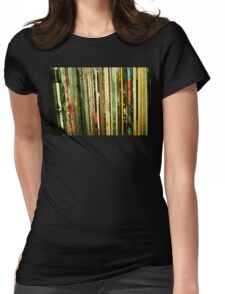 vinyl life Womens Fitted T-Shirt