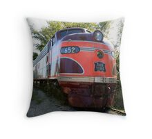 The Rock Island Rocket IV Throw Pillow