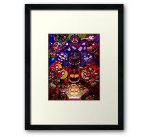 Mike and the gang Framed Print
